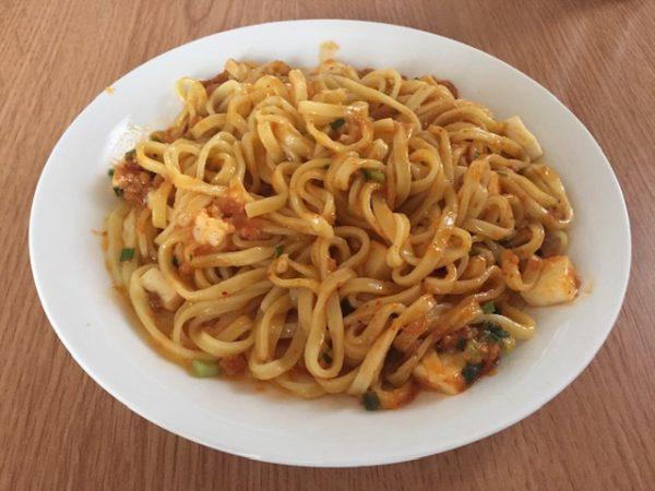 蒙古タンメン辛旨汁なし麻辛麺