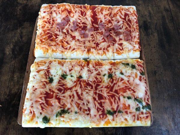 シャトレーゼ冷凍ピザ焼き