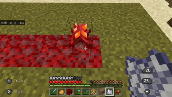 真紅の木生成キノコ