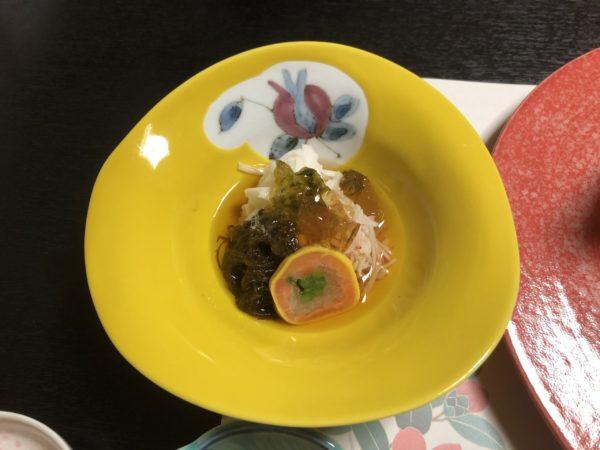 山田屋旅館酢の物