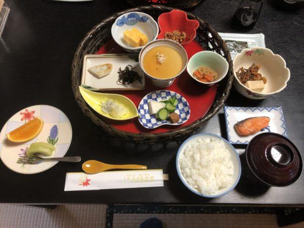山田屋旅館朝食
