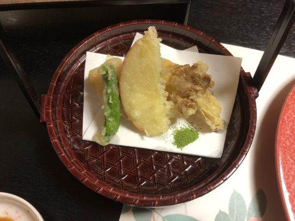 山田屋旅館天ぷら