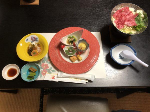山田屋旅館夕食