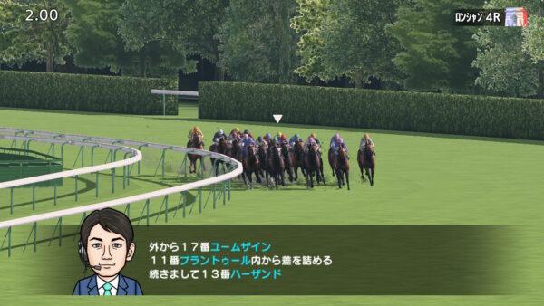 凱旋門賞最終コーナー