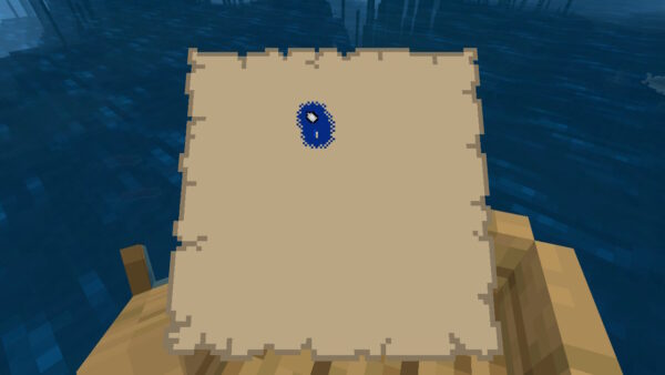 地図(進行方向表示)