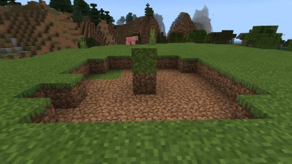 苔ブロック生成範囲