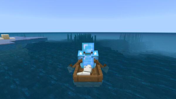 キツネ(ボート移動)
