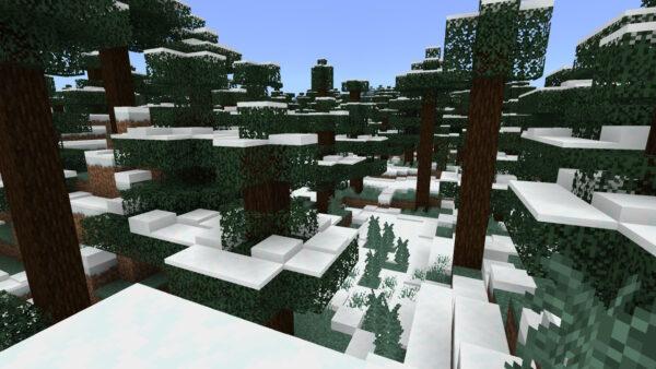 雪原タイガバイオーム