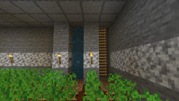 水流エレベーター(最下層)